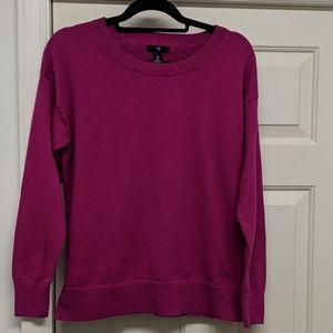 GAP Fushia Crewneck Sweater Size Large
